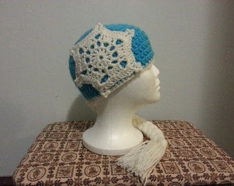 Frozen's Elsa Inspired Beanie - Various Sizes - Made-to-Order