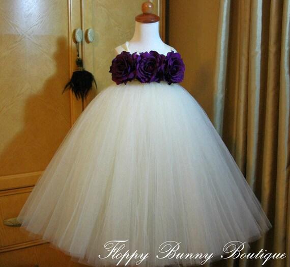 Tutu Dresses for Weddings Eggplant Lady's