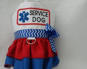 Medical Alert Service Dog Harness Dress