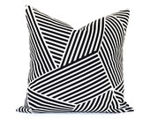 Merging Lines designer pillow cover - CHOOSE YOUR SIZE