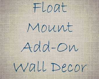 Wood Art Float Mount Upgrade Hardboard Mount Ready To Hang Home Decor Photograph Add-on Modern Nautical Large Wall Hanging Mounted Prints