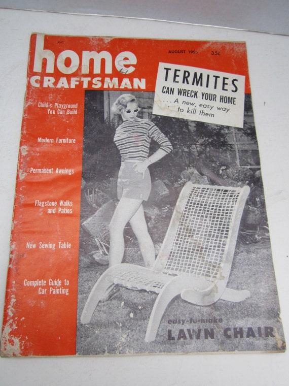 home craftsman magazine diy august 1955