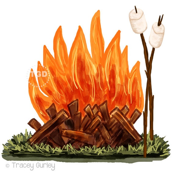 free clip art fire pit - photo #20