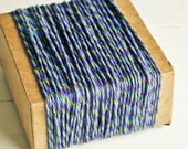 Thick Cotton Twine in Retro Twist - 10 Yards - Packaging Gift Wrapping String Cord Trim Ribbon Pretty Vintage Party Crafting Supply Decor