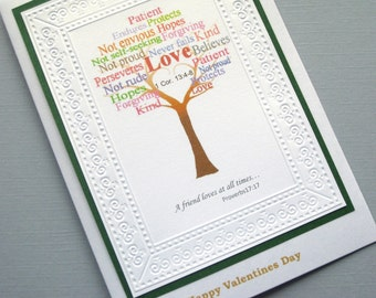 Friends Valentines day card, Christian valentines day cards for friends,