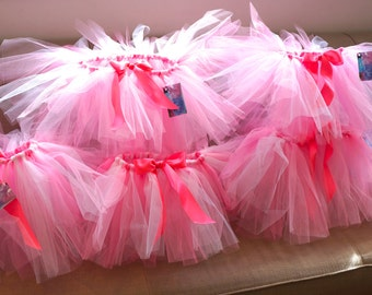 6 Kids Tutus - Party Pack - Birthday Tutus for Kids