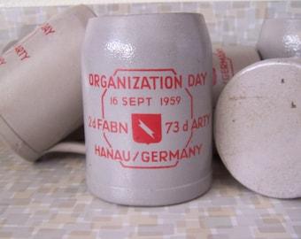 Hanan Germany Organization Day Set of 6 Steins