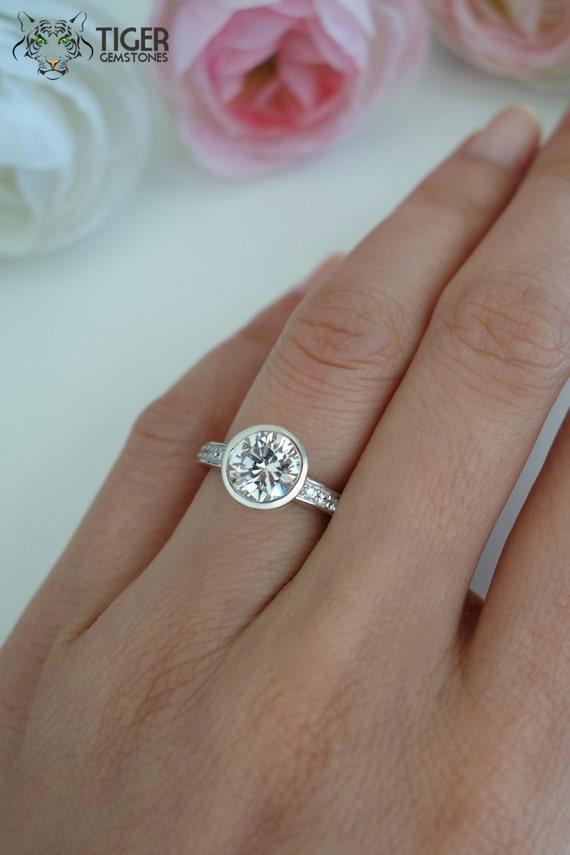 1.5 Carat Diamond Ring Round Cut