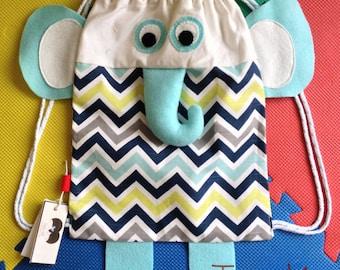 Toddler bags, elephant bag, bird bag, girl face bag, animal bags, accessories, canvas bag