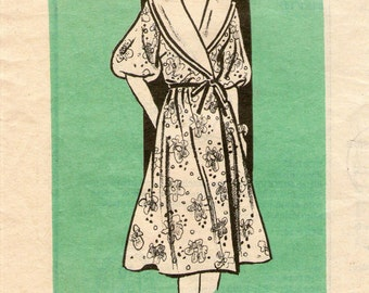 Mail Order 9429 Womens Elbow Sleeve Dress Size 16 Sewing Pattern