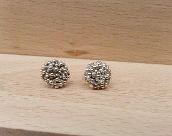 "earrings, silver, handmade ""Althea"""