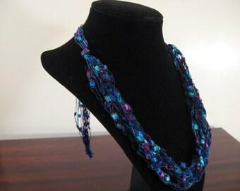 Trellis Necklace / Crochet Necklace Item No. 9