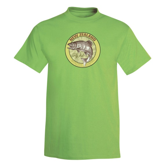 New Zealand South Island Fly Fishing T Shirt 8 By Localwaters