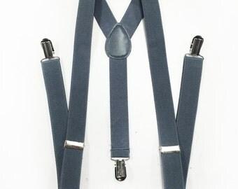 gray suspenders, men's suspenders, grey suspenders, grey suspenders, mens suspenders, boys suspenders, suspenders