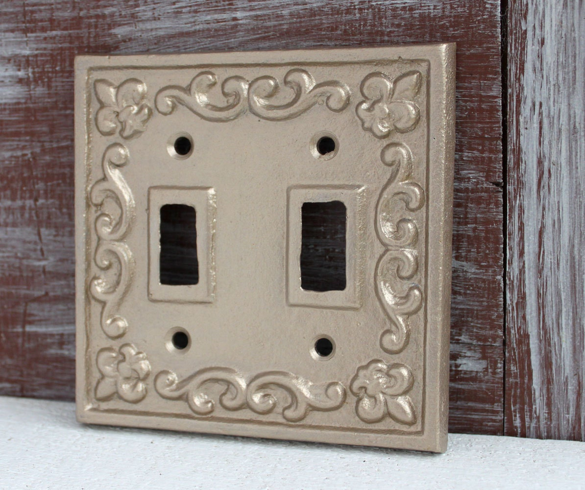 Decorative Light Switch Cover Double Light Switch Plate