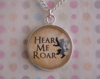Game of Thrones House Lannister V2 Necklace