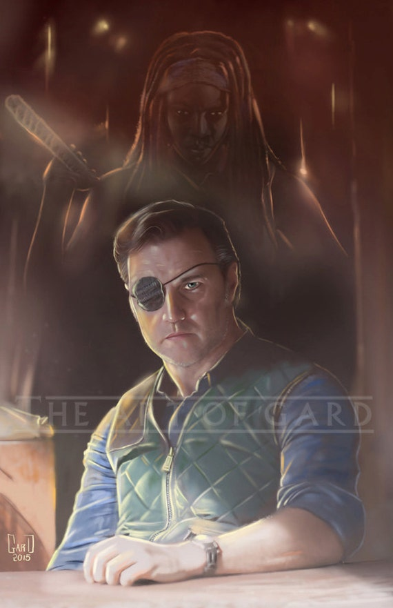 THE DEAL  (The Governor and Michonne)