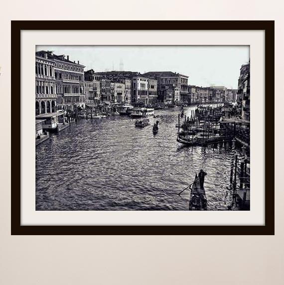 Venice Photography Canal Italian Decor By Crystalorbitstudios