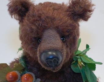 """OOAK Artist Bear """"Oakley"""""""