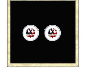 Ruger - Silver Plated Cufflinks