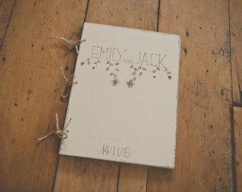 Customised Hand Painted Wedding Photo Album