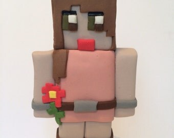 Minecraft Character Cake Topper