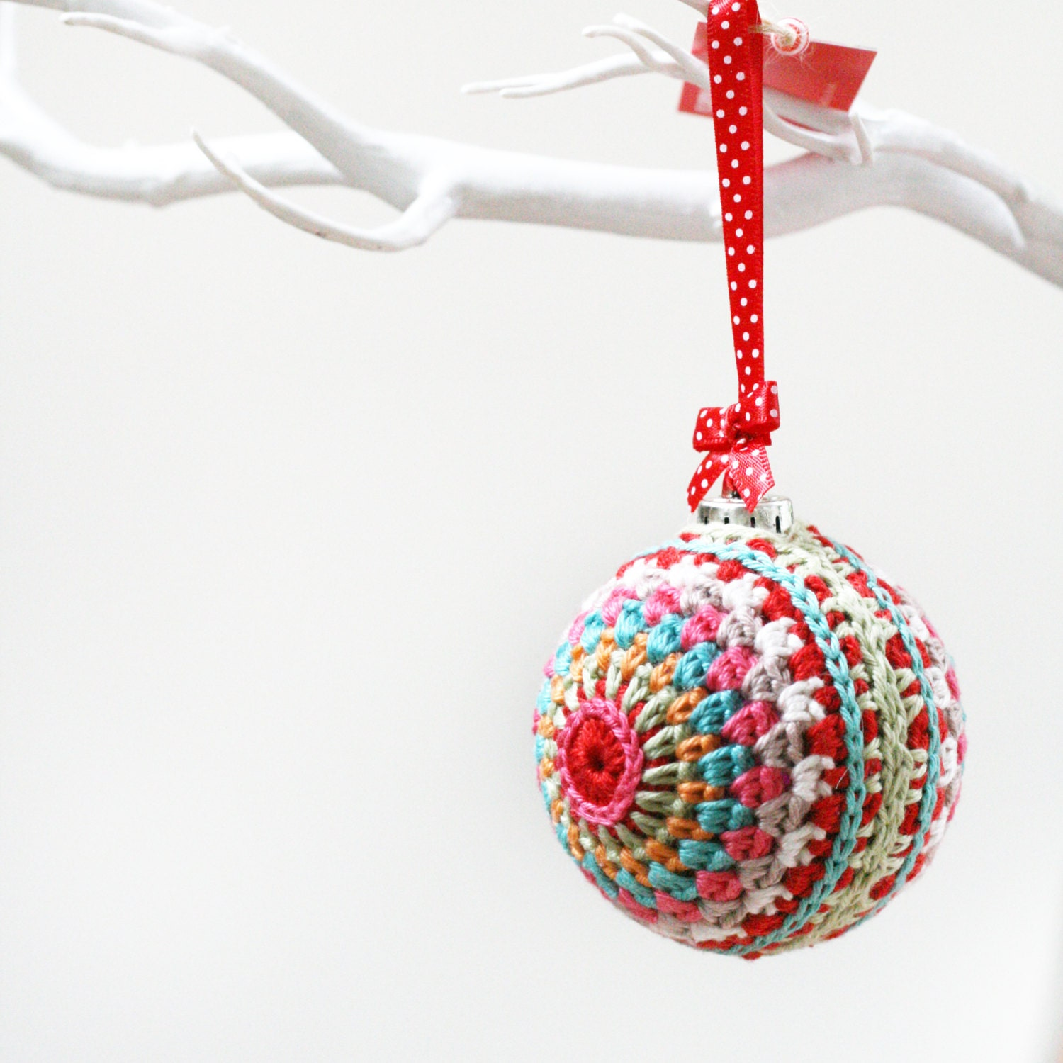 Crochet Bauble Decoration Beautiful Contemporary Crochet