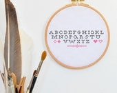 Cross stitch pattern maker text