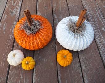 Dryer Vent Pumpkins: Set of 1