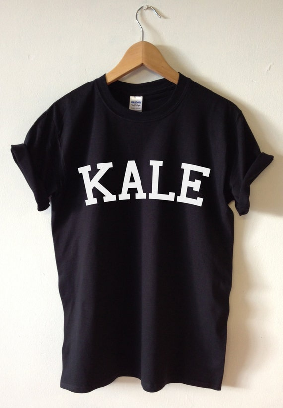 Kale t shirt high quality screen print for retail quality for Good quality t shirt printing