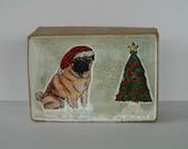 Christmas Pug Gift Box