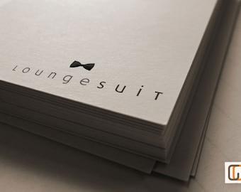 Lounge Suit // Pre-made Logo Design