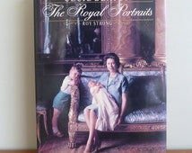 1988 The Royal Portraits - Cecil Beaton - Roy Strong - Queen Elizabeth - British Royal Family Photos - Vintage Photography Book