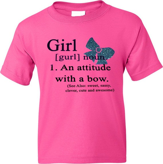 Girl glitter bow tee shirt choose any colors funny by artikice for Librarian t shirt sayings