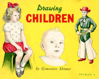 Drawing Children by Genevieve Shimer - Pitman 9