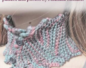 Pixie Scarflette Knitting Pattern