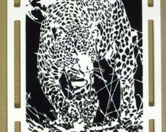 Leopard Wall Hanging