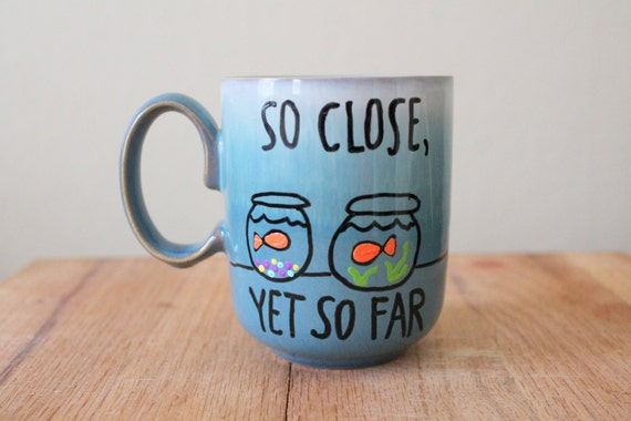 So Close Yet So Far Coffee Cup Long Distance Mug Gift For Best