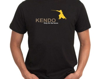 Kendo  Only For The Brave T-Shirt