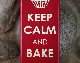 Keep Calm Bake On
