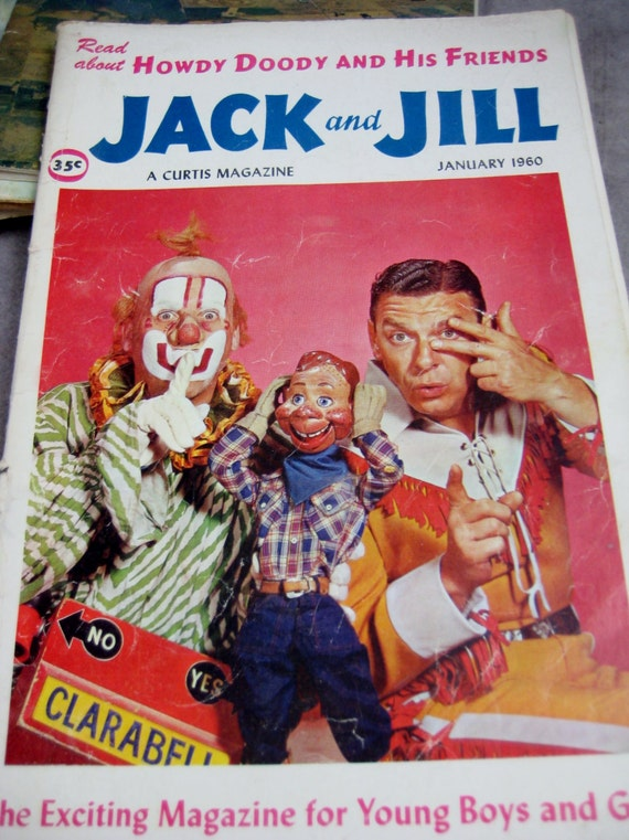 Lot of 11 jack and jill magazines 1959 1965 howdy doody for Jack and jill full movie free