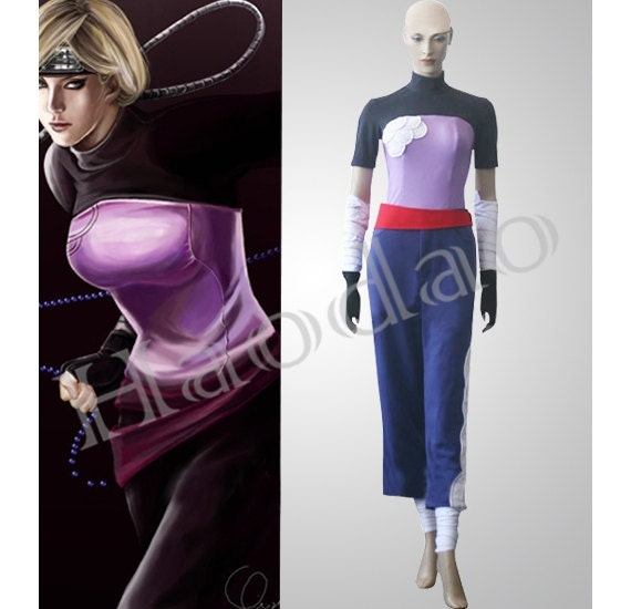 Two-Tailed Monster Cat Yugito Nii Naruto Cosplay Costume ...