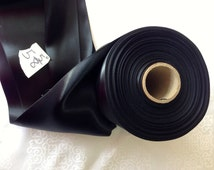 """Vintage Satin/Faille Black Ribbon 5 5/8"""" Wide. Rayon, Sold by the Yard."""