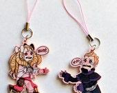 SALE! Fire Emblem Awakening Keychains. Maribelle & Brady PINK.