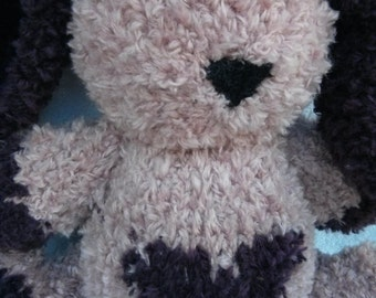 Emily The Hand Knit Bunny Soft Toy Knitted Toys Hand