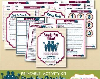 Printable Charades - Family Fun Ideas