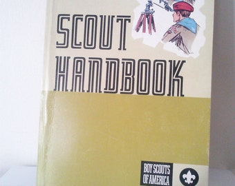 1972 Eighth Edition First Printing Scout Handbook / June 1972 / Boy Scouts of America Handbook