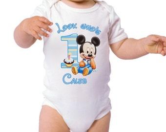 1st Birthday Boy Mickey, Baby Mickey Boy, 1st Birthday, 1st Birthday Boy Shirt, 1st Birthday Boy, Birthday Boy Shirt, I'm the Birthday Boy