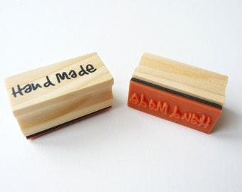"Rubber stamp ""Handmade"""