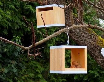 Bird feeder and bird house - Rubikus Snow